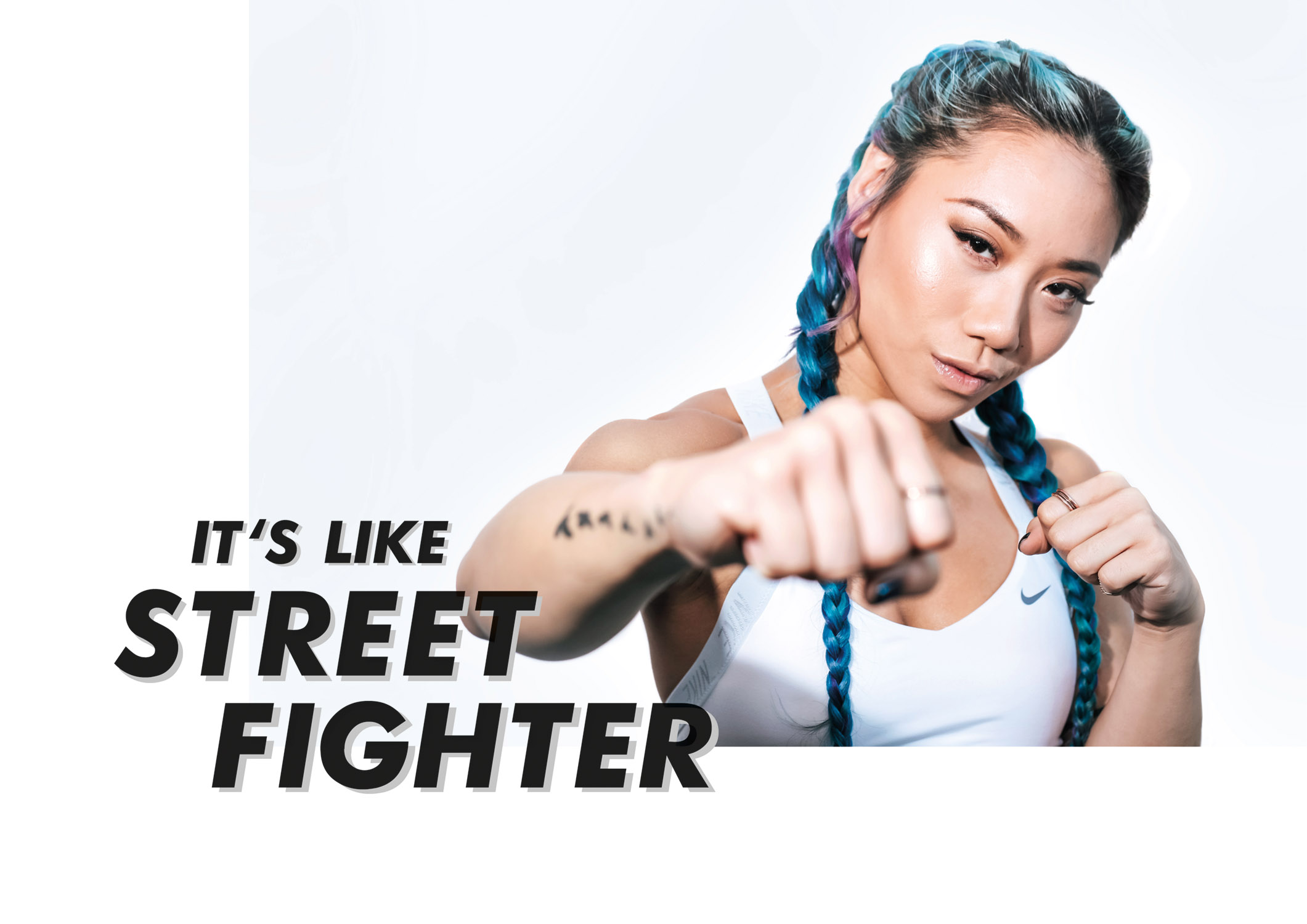 """It's Like Street Fighter"" Sandra Riley Tang of The Sam Willows - ZYRUP #FITSPO"