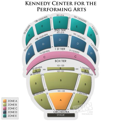 Kennedy Center Opera House Seats Bad