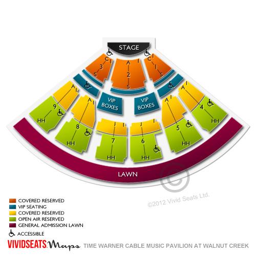 Walnut Creek Raleigh Nc Seating Chart