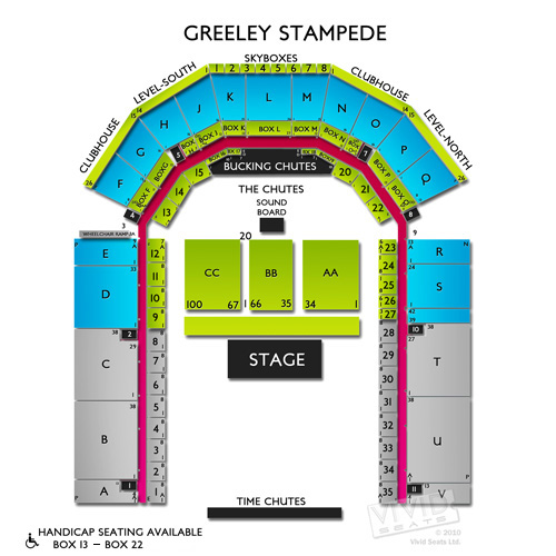 Greeley Stampede Seating Chart Concerts Brokeasshome Com