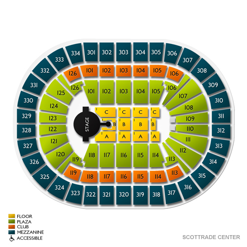 Verizon Center Seating Chart Row
