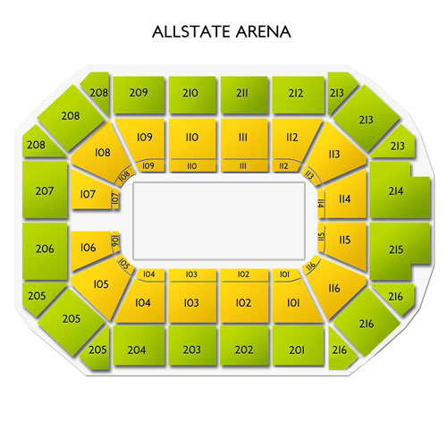 Seating Chart Allstate Arena Brokeasshome Com