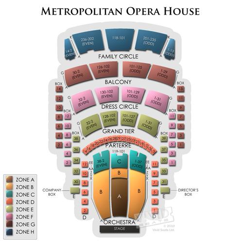 Opera Met Chart Seating Pdf