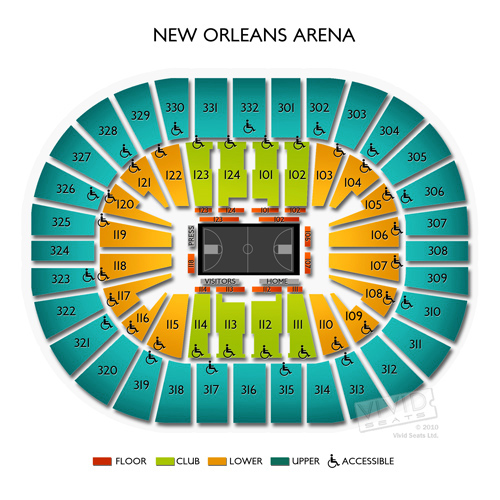 Warriors New Stadium Virtual Tour: Smoothie King Arena Seating View
