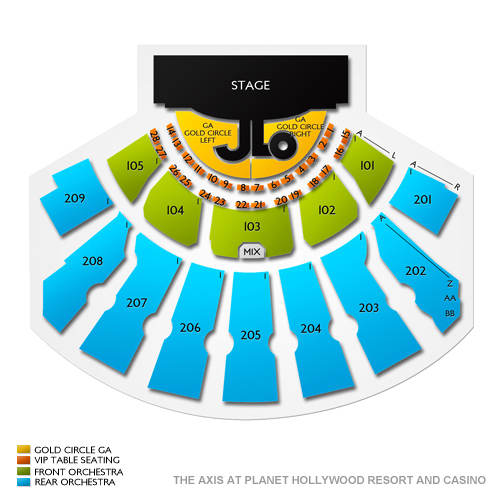 axis theatre planet hollywood seating chart. Black Bedroom Furniture Sets. Home Design Ideas