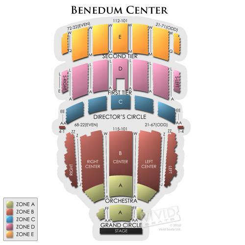 Benedum Center Seating Chart Director S Circle