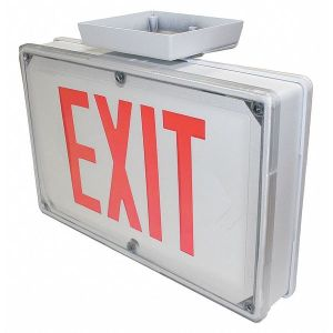 Exit Signs by Philips Chloride   Zoro