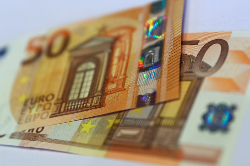 FILE PHOTO: The German Bundesbank presents the new 50 euro banknote at it's headquarters in Frankfurt