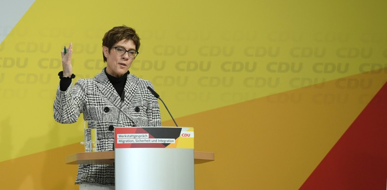 FILE PHOTO: German CDU to host conference on migration, integration and security
