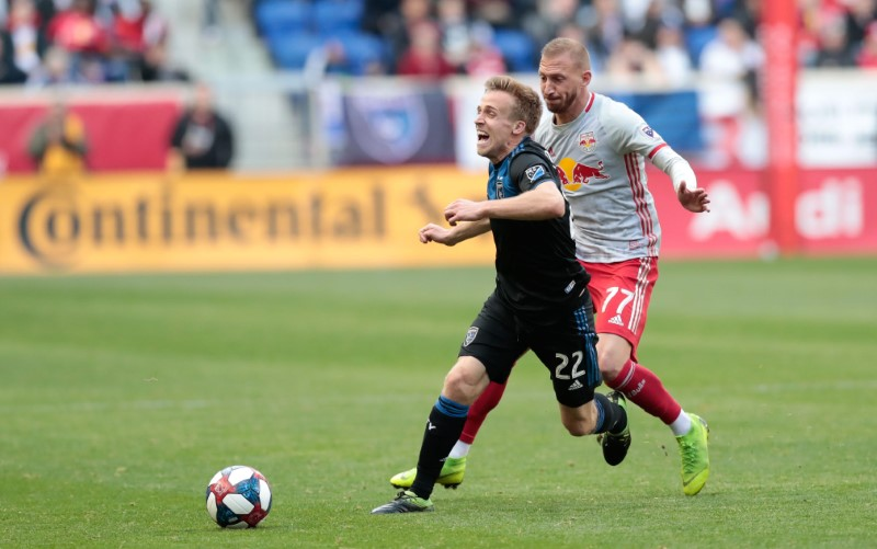 MLS: San Jose Earthquakes at New York Red Bulls