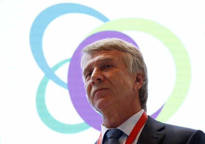 Novatek Chairman Mikhelson attends Russian Energy Week forum in Moscow