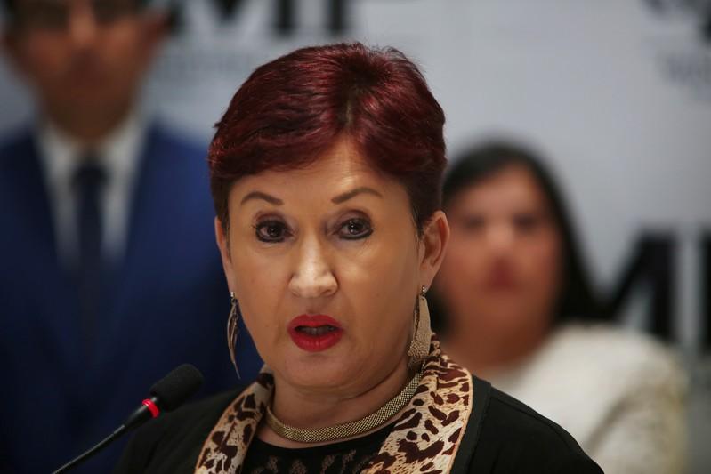 FILE PHOTO: Guatemalan Attorney General Aldana participates in a news conference in Guatemala City