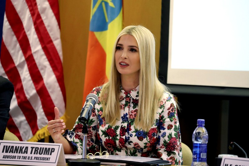 White House Advisor Ivanka Trump attends the African Women's Economic Empowerment Dialogue meeting at the United Nations Economic Commission for Africa headquarters, in Addis Ababa