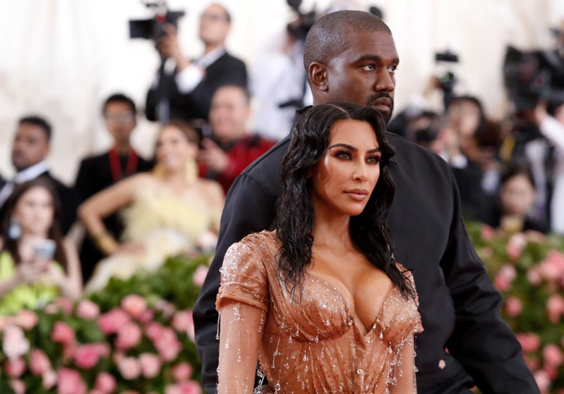 FILE PHOTO: Metropolitan Museum of Art Costume Institute Gala - Met Gala - Camp: Notes on Fashion- Arrivals - New York City, U.S. – May 6, 2019 -Kim Kardashian and Kanye West