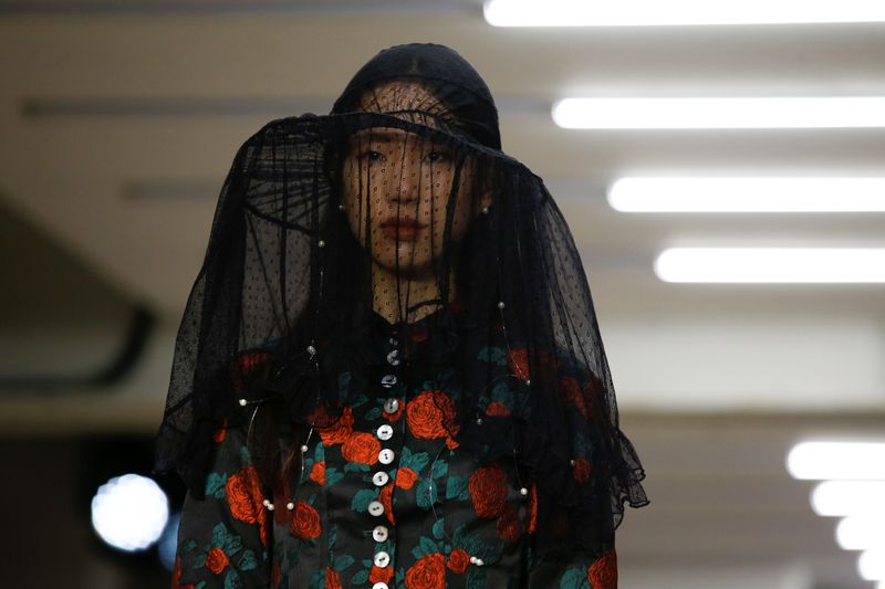 Hand sanitisers as London Fashion Week opens amid coronavirus disruption