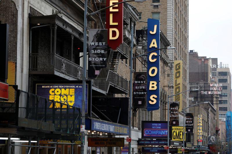 Broadway extends coronavirus shutdown through June 7