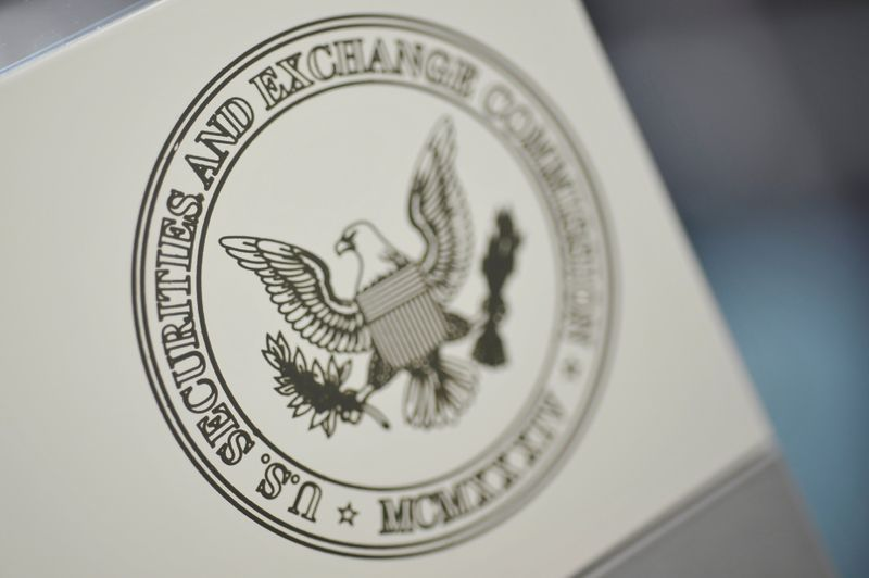FILE PHOTO: The U.S. Securities and Exchange Commission in Washington, D.C.
