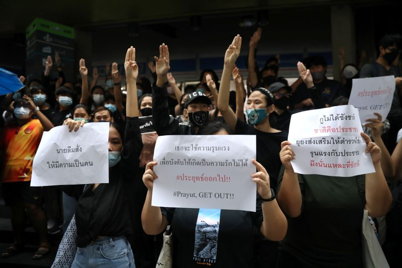 Anti-government protest in Bangkok