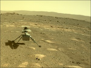 NASA의 화성 헬리콥터가 처음으로 추운 화성의 밤에서 살아 남았습니다.