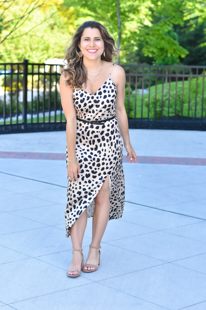 Flirty Date Night Look - Leopard Dress