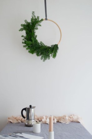 Diy decorating scandinavian christmas 16