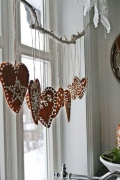 Diy decorating scandinavian christmas 30