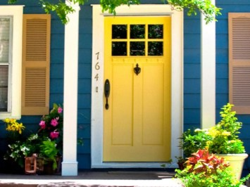 Ideas to decorate your entryway to replace porch 04