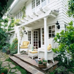 Ideas to decorate your entryway to replace porch 26