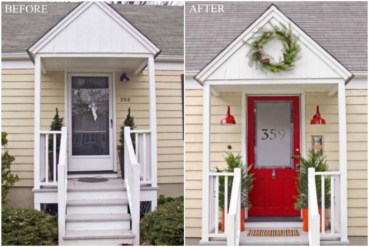 Ideas to decorate your entryway to replace porch 28