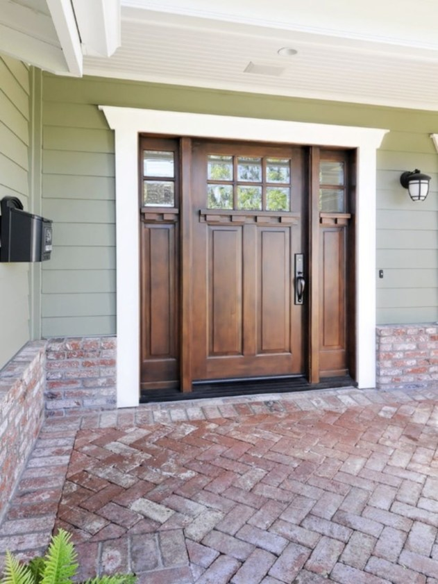 Ideas to decorate your entryway to replace porch 39
