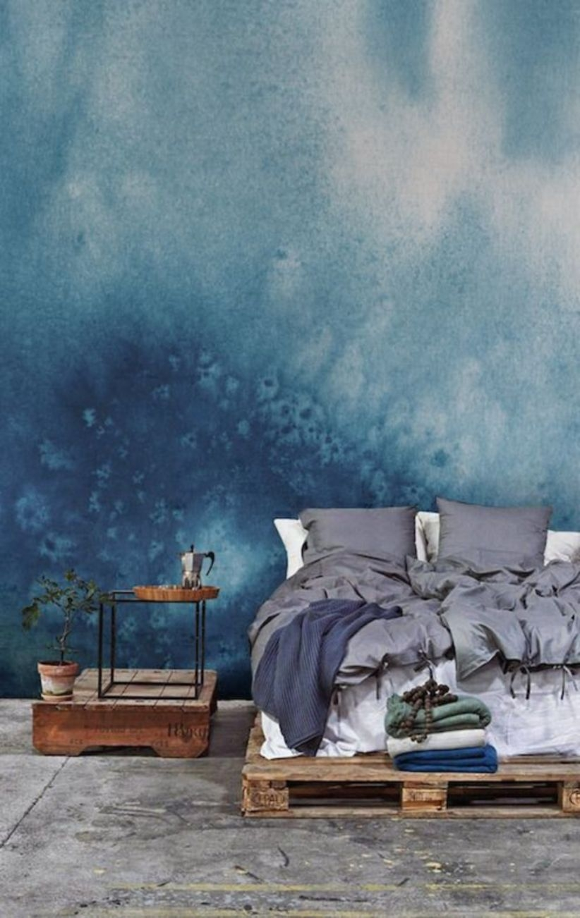 Masterpiece of your walls with this collection of watercolour wallpaper murals