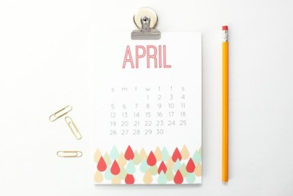 Modern wall calendars to get you organized for 2018 14