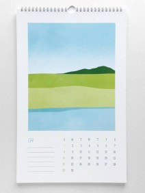 Modern wall calendars to get you organized for 2018 19