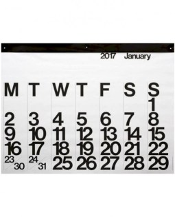 Modern wall calendars to get you organized for 2018 29
