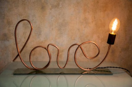 Stunning ideas to use copper pipes for your home decor 01