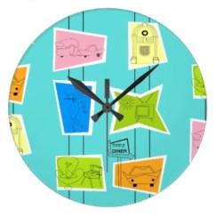Unusual modern wall clock design ideas 23