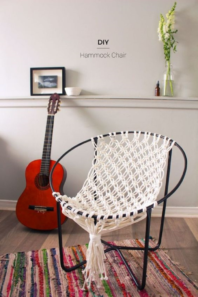 Inpiden Macrame Chair