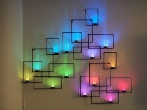 Easy and awesome wall light ideas for teens 45