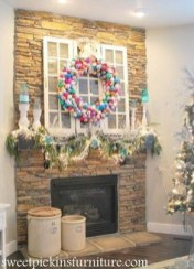 On a budget diy christmas wreath to deck out your door 29