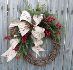 On a budget diy christmas wreath to deck out your door 36