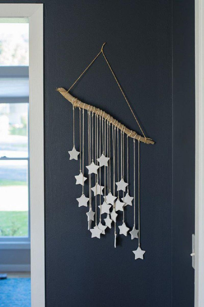 Star Mobile as Wall Art