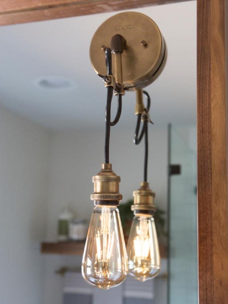 Install new lighting fixtures