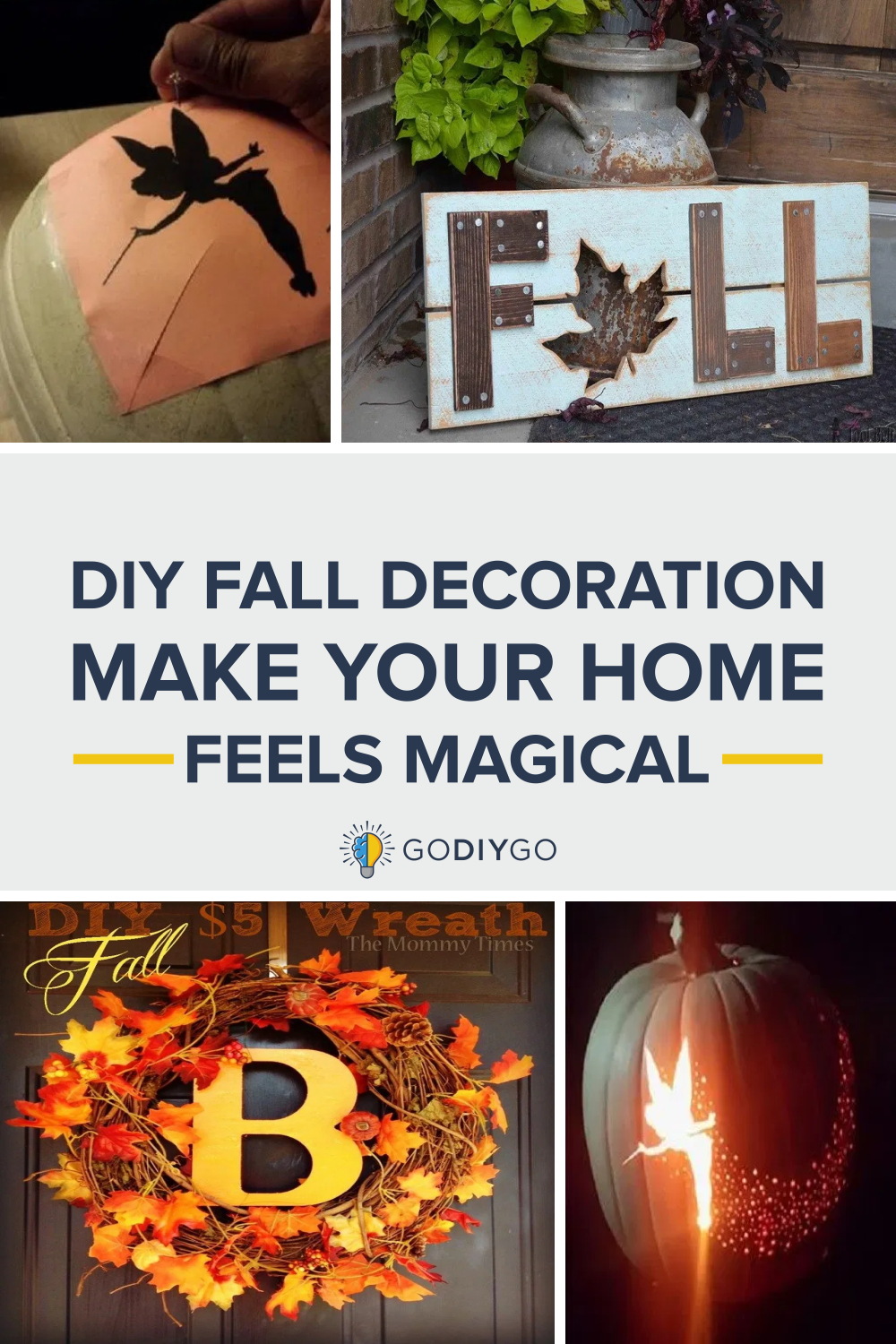 5 Amazing DIY Fall Decoration That Will Make Your Home