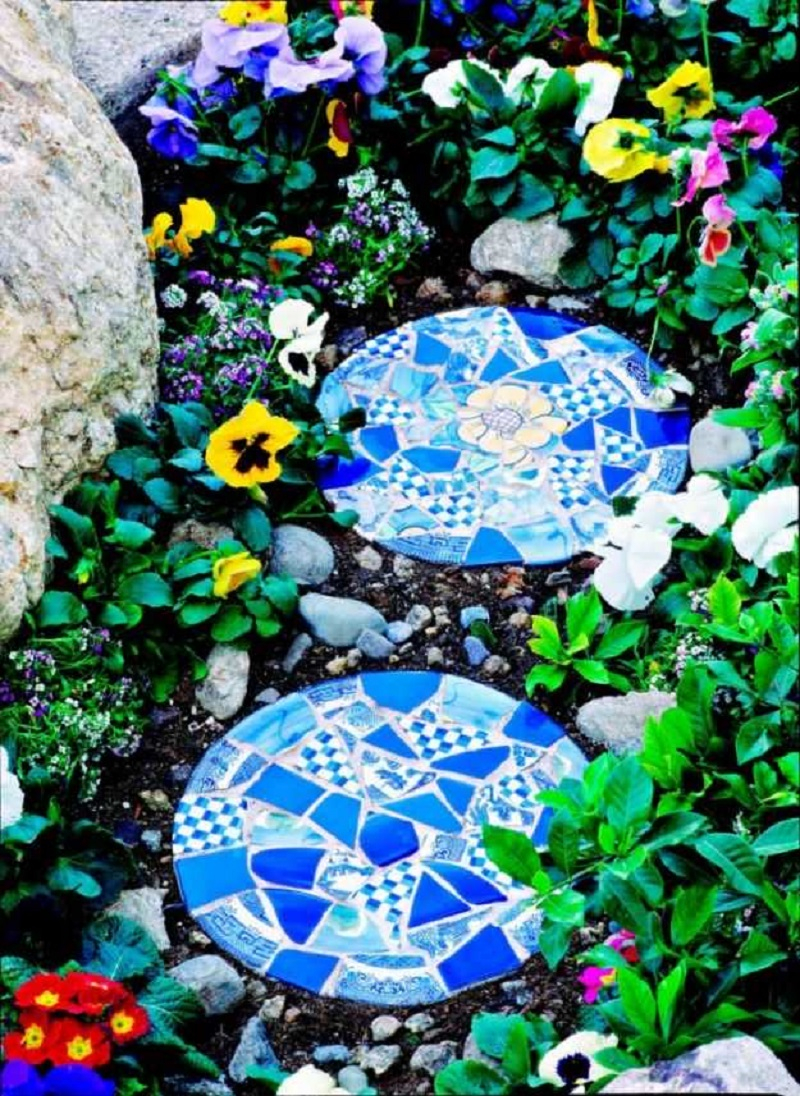 Beautiful stepping stone