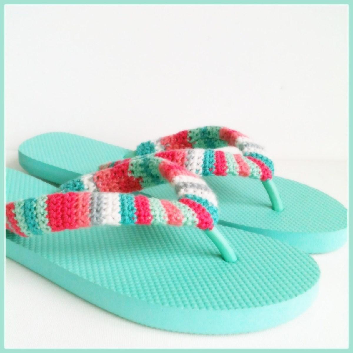 Crochet flip flops DIY Picturesque Flip Flops Ideas That Are Great For Indoor Or Beach Day
