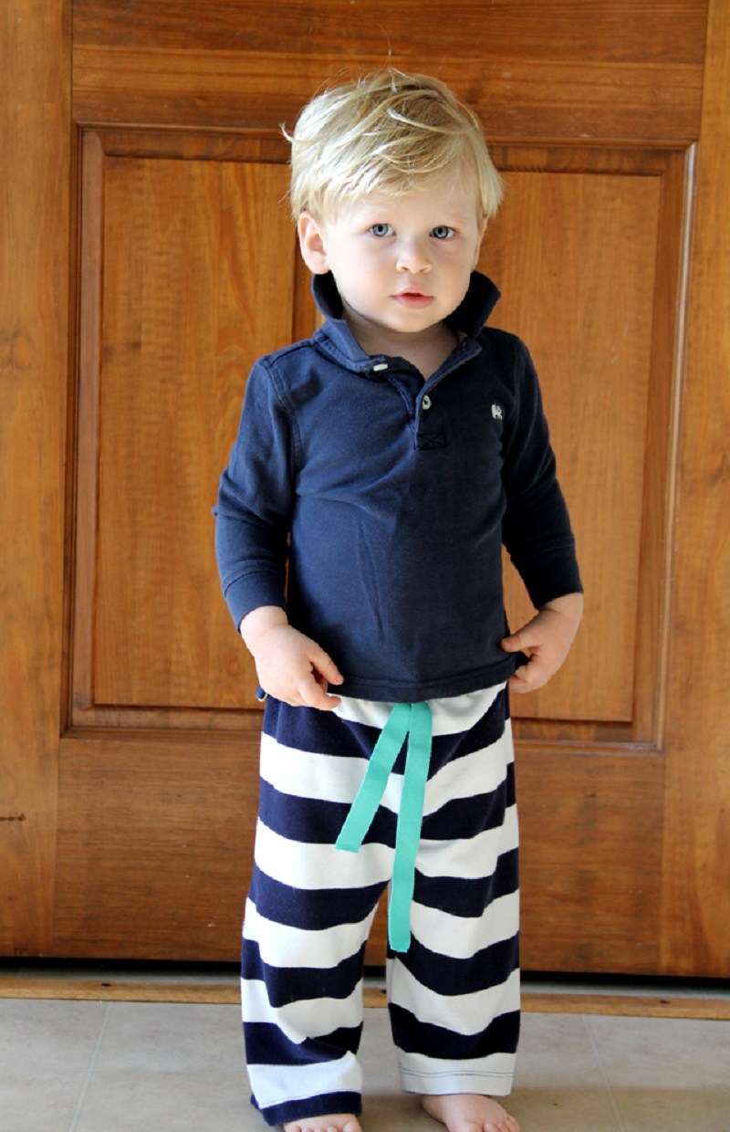 Diy drawstring pants DIY Bewitching Baby Wear Ideas For Your Little One That Saving Your Money