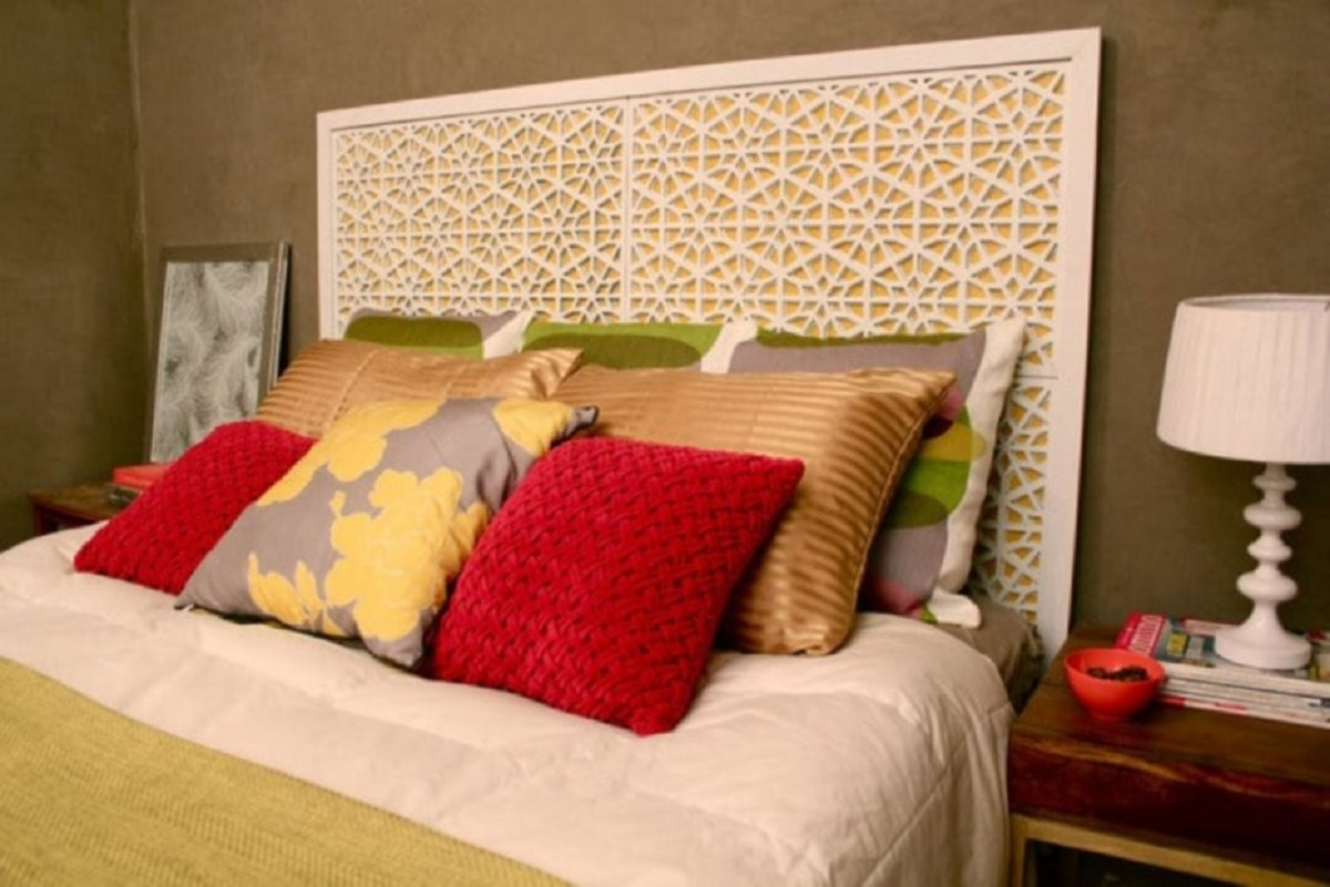 Diy west elm morocco headboard DIY Beautiful In White Decoration Ideas Where All Will Look Pure
