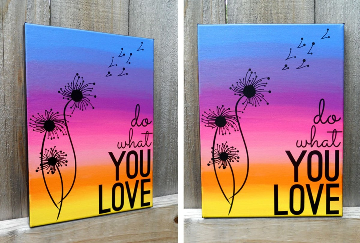 Inspirational art Trouble-Free DIY Canvas Wall Art Ideas To Decorate Your Home