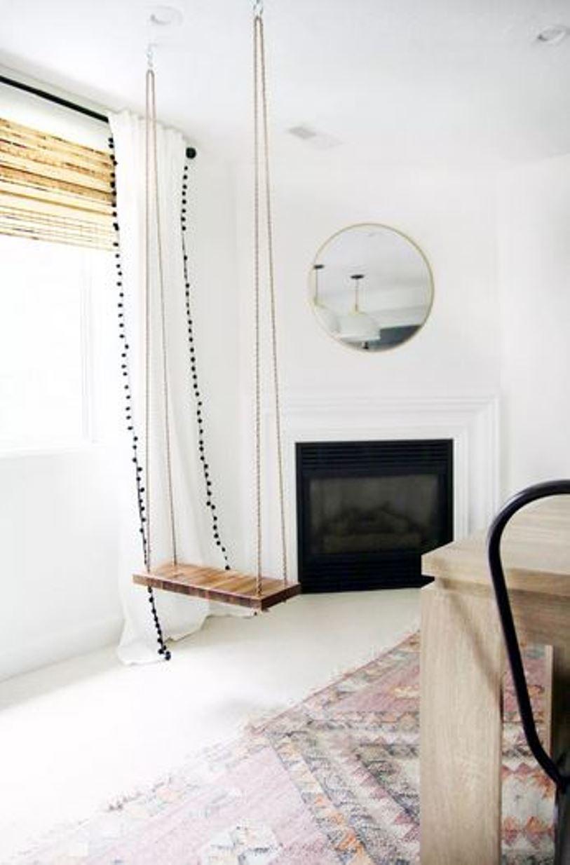 Living room swing chair