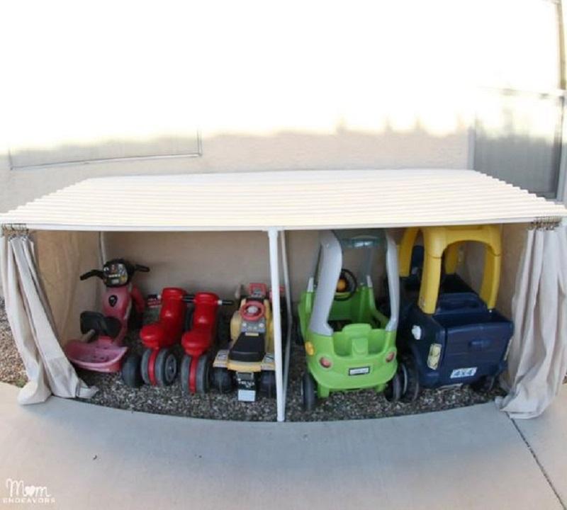 Toys storage diy